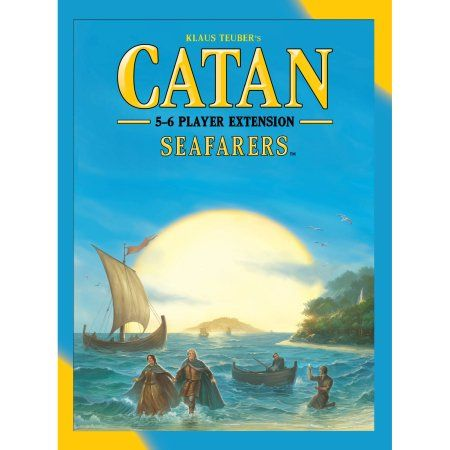 Catan Seafarers 5 And 6 Player Extension 5th Edition Settlers Of Catan Catan Catan Board Game