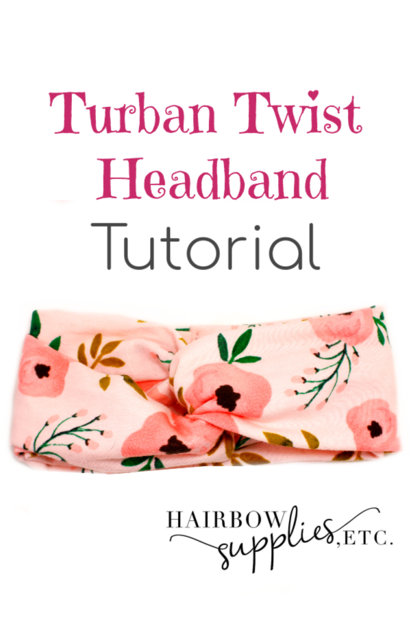 Twisted Turban Headband