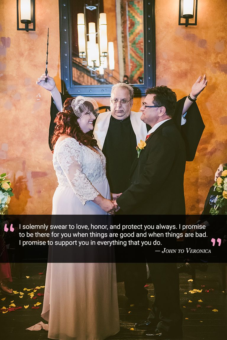 Wedding in the church: protect love