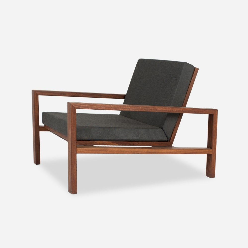 Case Study® Teak Lounge Chair   Upholstered   Outdoor   Modernica