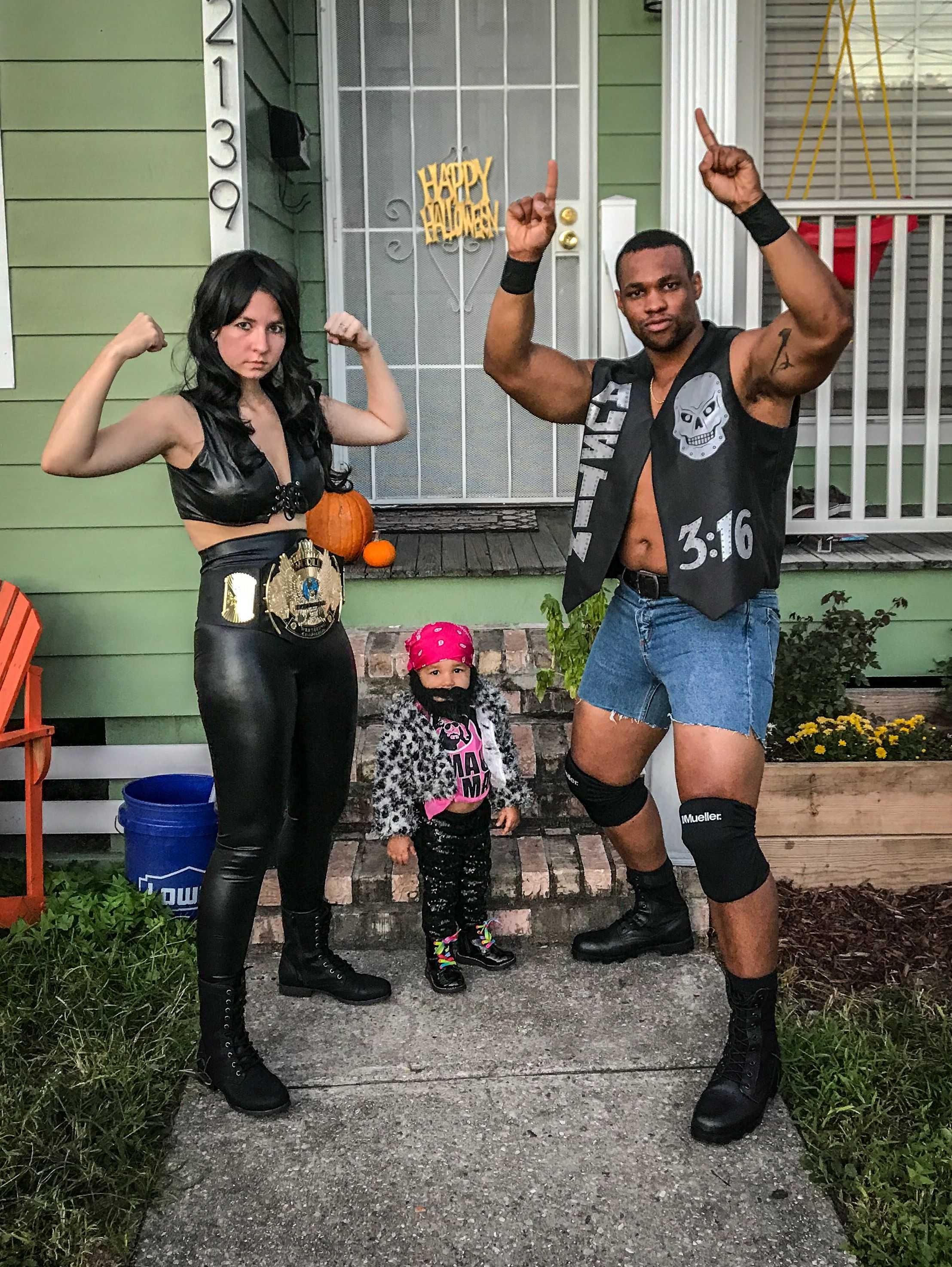 Stone Cold Steve Austin WWE Wrestling Fancy Dress Up Halloween Child Costume