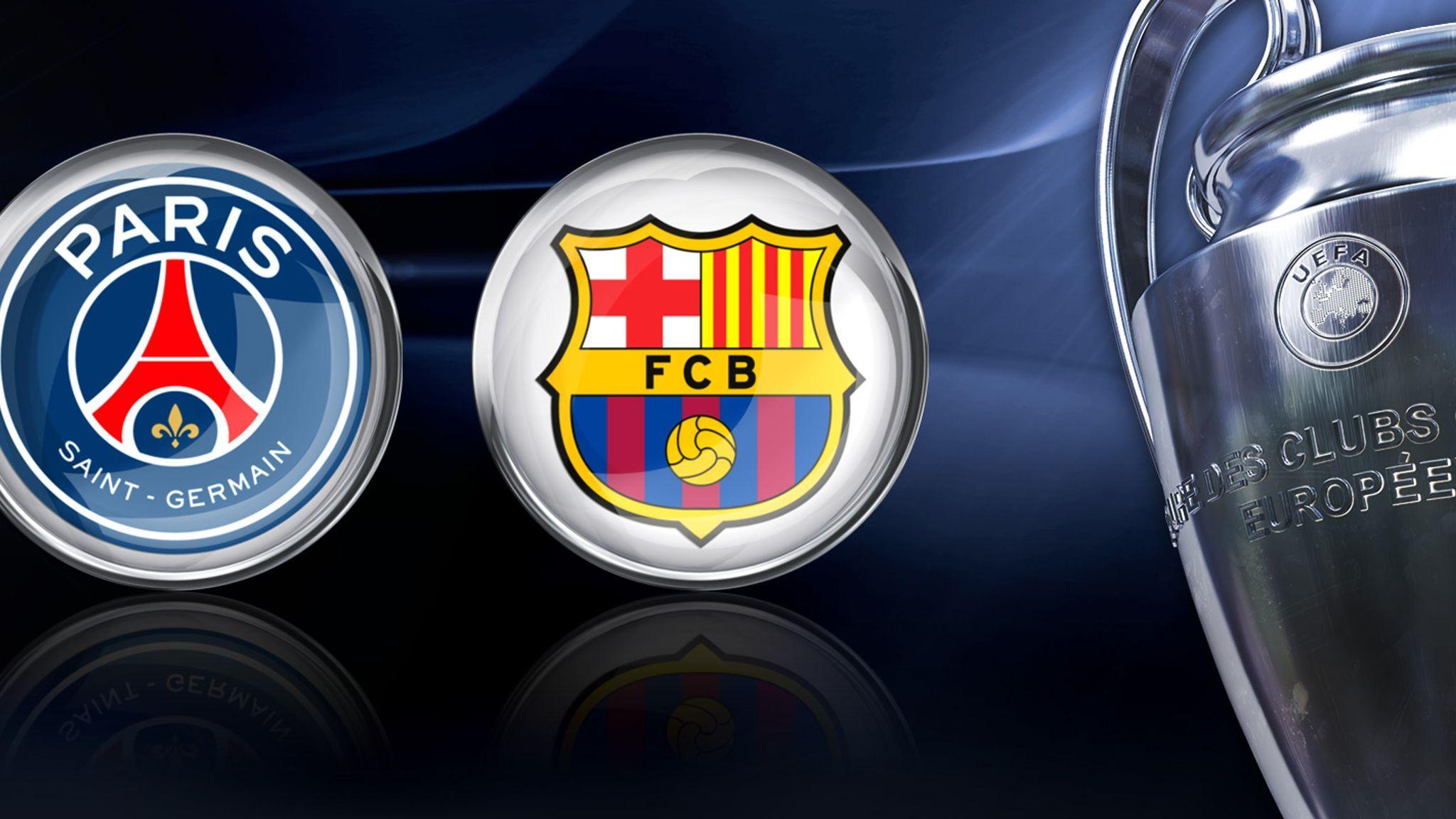 च य म प यन स ल गक ड र स र वजन क प एसज र ब र स ल न भ ड द Champions League Draw Champions League Sport Team Logos