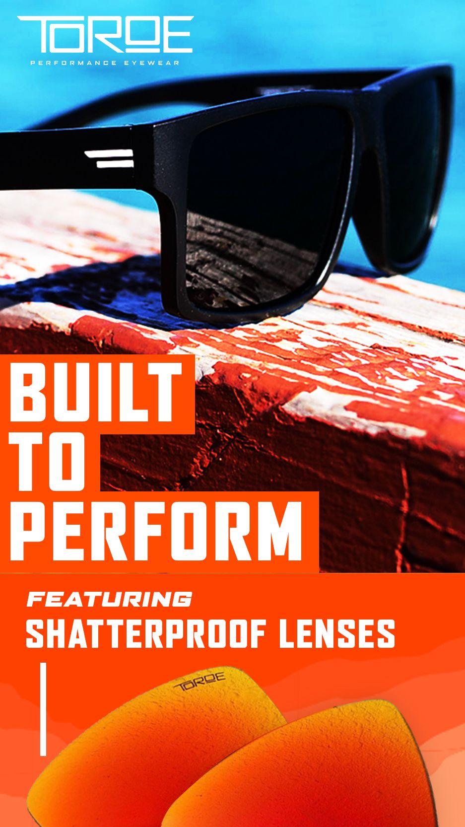 Pin on Range Polarized Sunglasses Toroe
