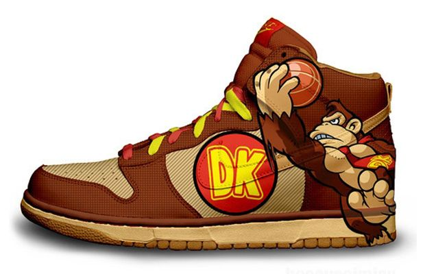 nike-donkey-kong-custom-sneakers.jpg (620×400)