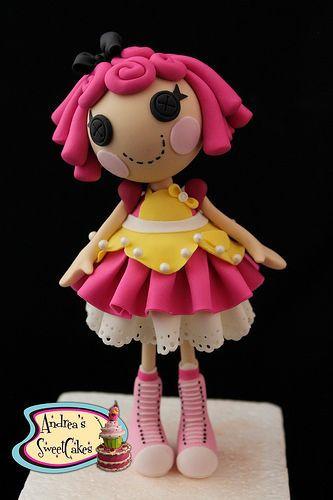 Lalaloopsy Cake toppers | Flickr - Photo Sharing!