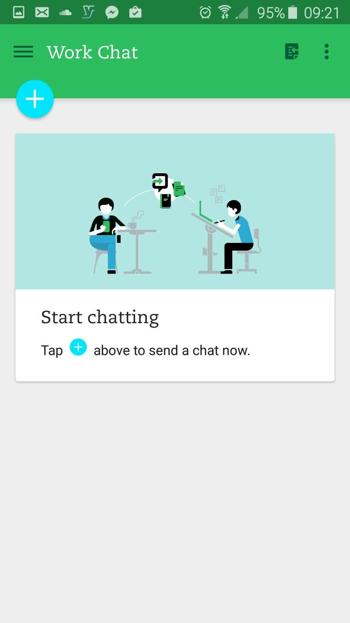 No chats in Evernote for Android