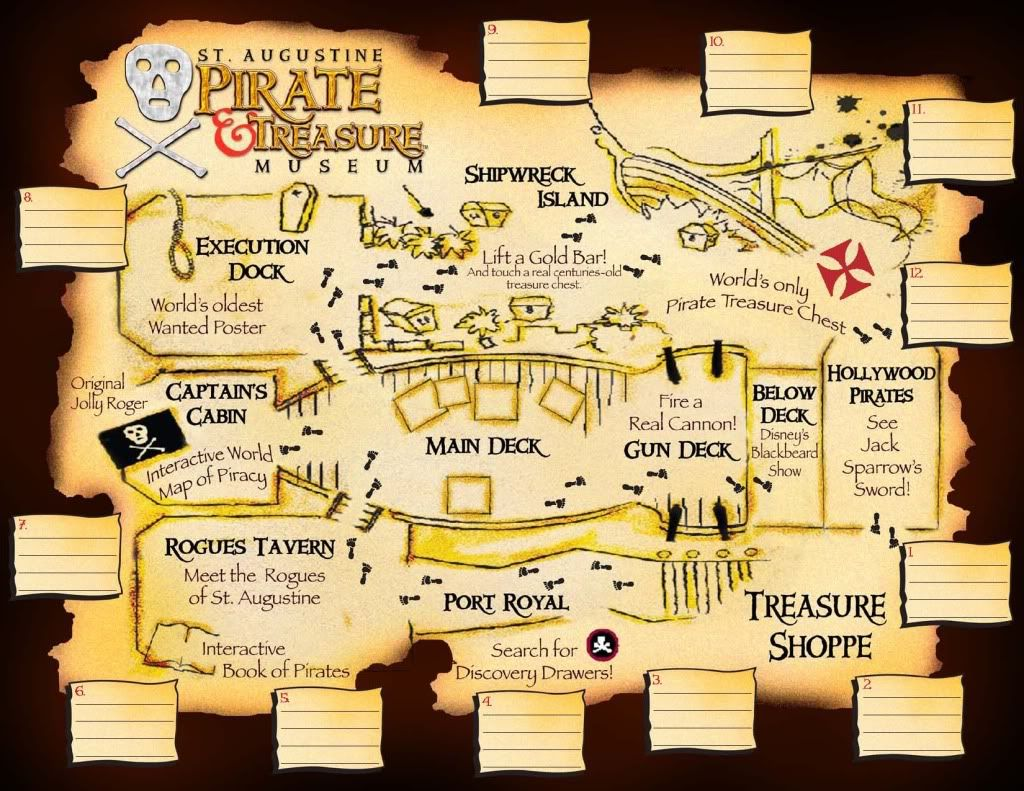 St Augustine Pirate And Treasure Museum Open 10 7 Daily