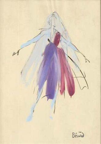 Projet de costume pour la Symphonie fantastique par Christian Bérard