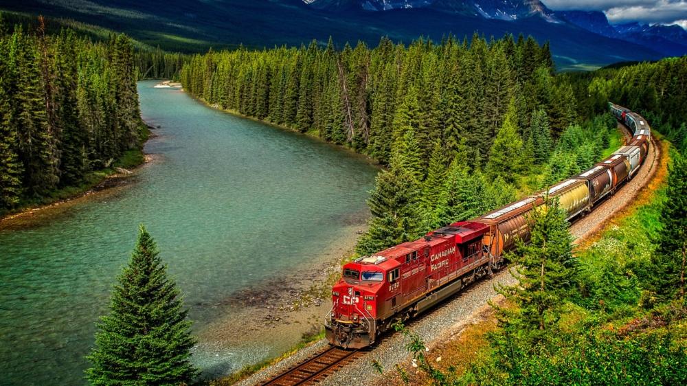 Oboi Poezd Iron Kanada Razdel Raznoe Skachat Besplatno Na Rabochij Stol In 2020 Train Scenery Immigration Canada