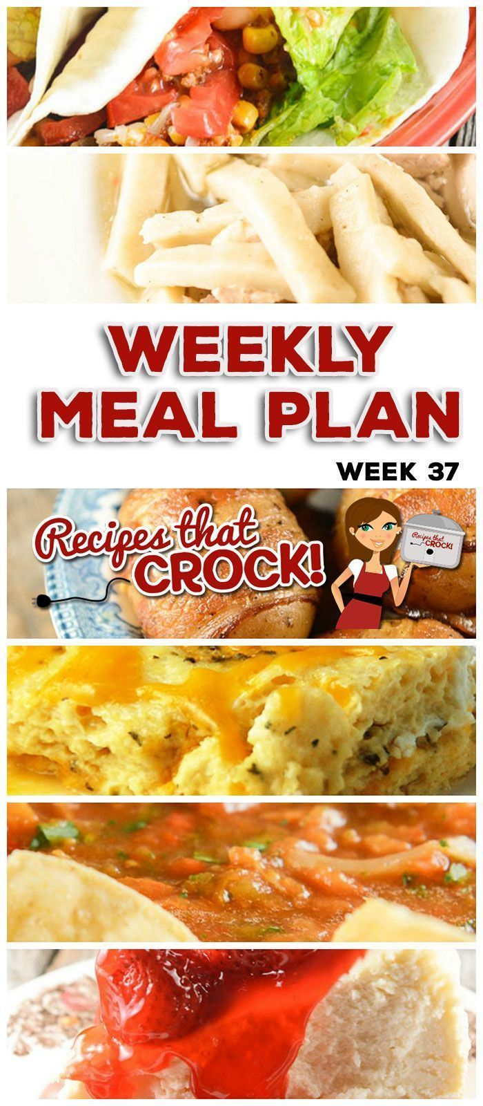 This week's weekly menu features Crock Pot Brown Sugar Pineapple Pork Roast, Crock Pot Broccoli Cheese Casserole, Crock Pot Beefy Tex Mex Tacos, Crock Pot Homemade Salsa, Slow Cooker Chicken Noodles, Crock Pot Seafood Gumbo, Easy Crock Pot Chicken Dinner for Two, Crock Pot Cheese Souffle, Crock Pot Bacon Taters, Crock Pot Cheesecake. #crockpotgumbo This week's weekly menu features Crock Pot Brown Sugar Pineapple Pork Roast, Crock Pot Broccoli Cheese Casserole, Crock Pot Beefy Tex Mex Tacos, Croc #crockpotgumbo