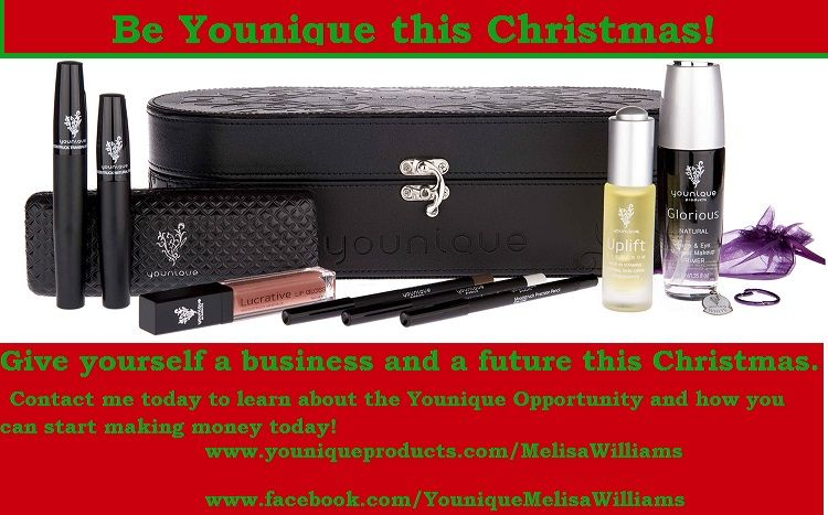 Join my team and give yourself a great Christmas gift!  www.youniqueproducts.com/MelisaWilliams