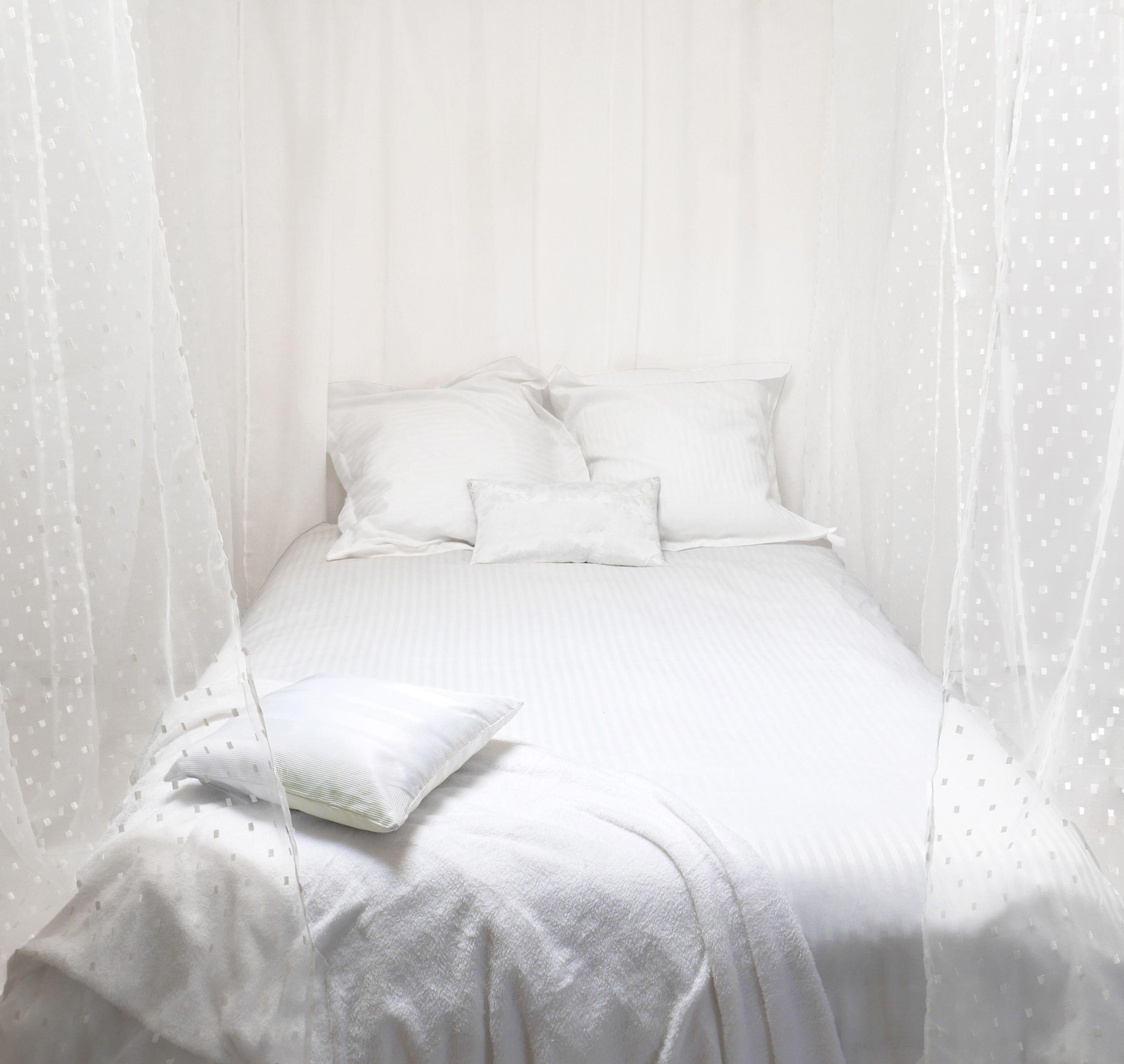 www.linge-et-maison.com vous propose une sublime parure en soie