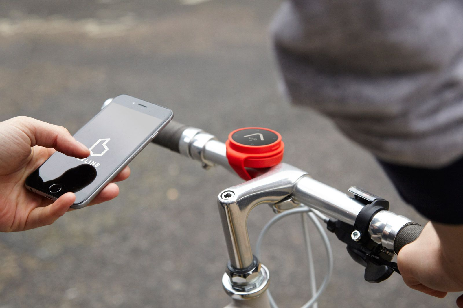Bicycle Navigation by Map Project Office and Beeline.
