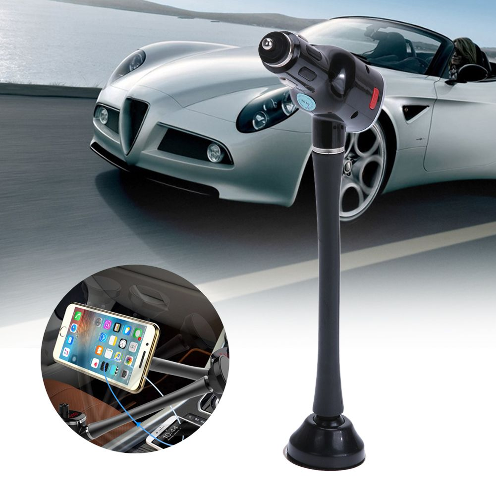 High Quality Multi Function Bluetooth Fm Transmitter Usb Car Charger