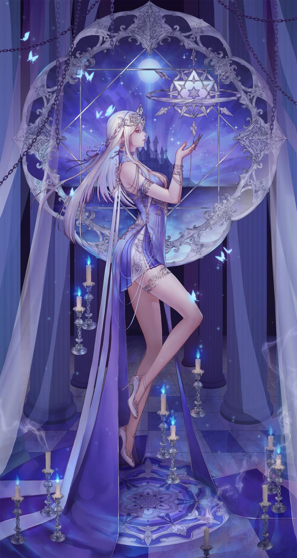 Personal work, ZIO / Make Kim  Anime art fantasy, Anime fantasy