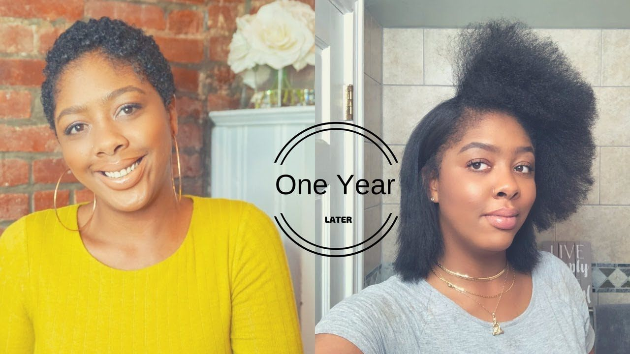 1 Year Post Big Chop Natural Hair Journey Blowout Flat Iron For Beginners Bigchop Postbigchop Si Hair Journey Natural Hair Styles Natural Hair Journey