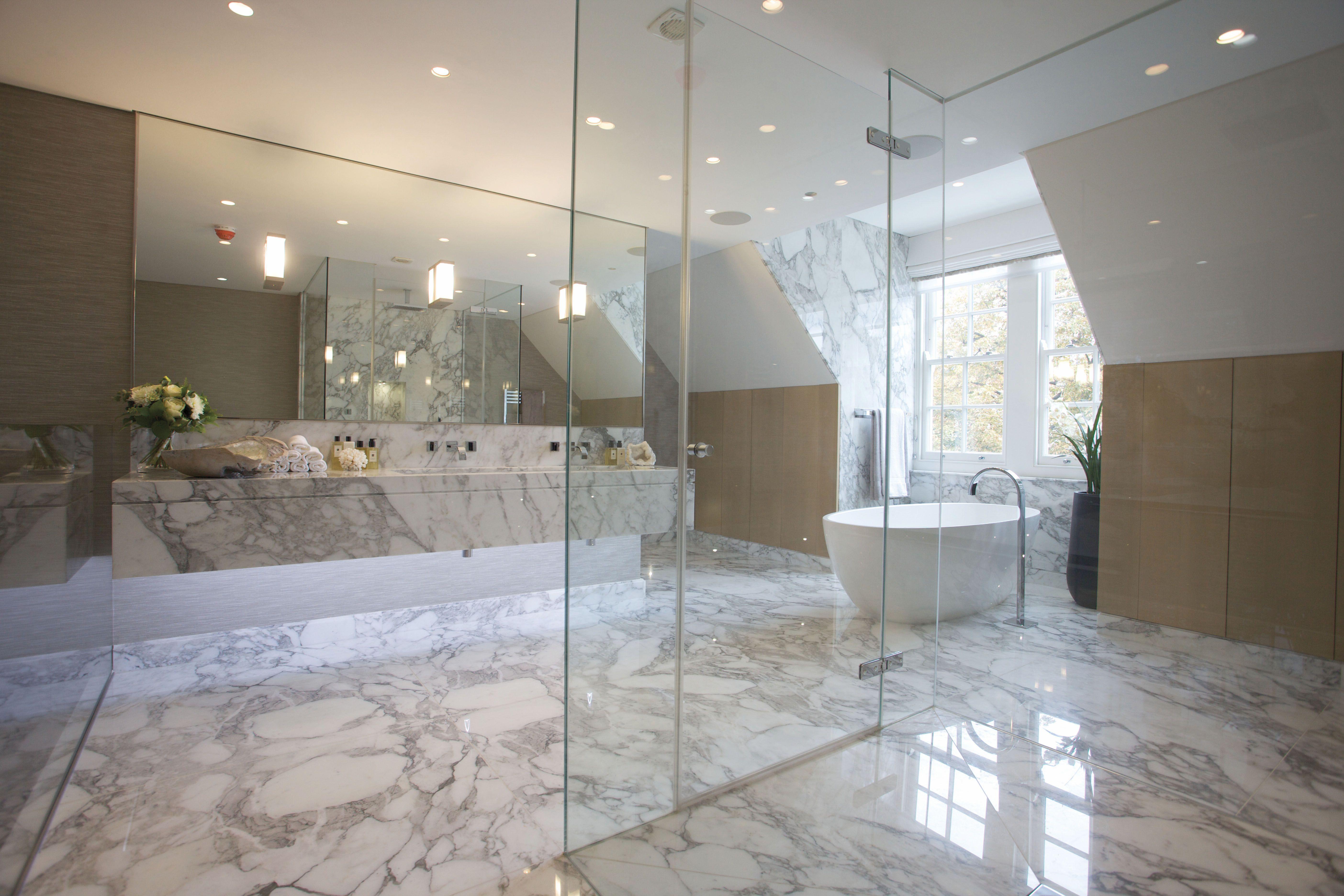 Master Marble Bathroom Modern Luxury Bathroom Master Bathroom Layout Master Bathroom Renovation