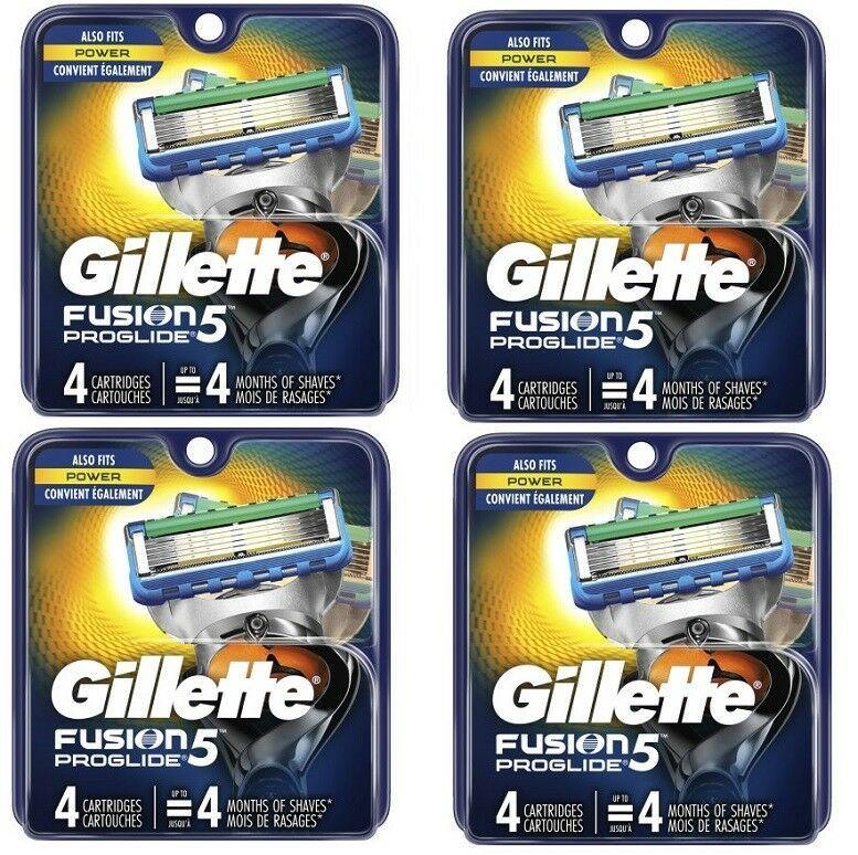 Ebay Sponsored 16 Gillette Fusion5 Proglide Refill Cartridges New Sealed Low Ww Ship Gillette Gillette Fusion Cartridges