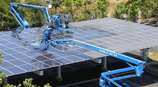 Solar Panel Cleaning In Reading With Images Solar Panels Solar Energy Diy Best Solar Panels