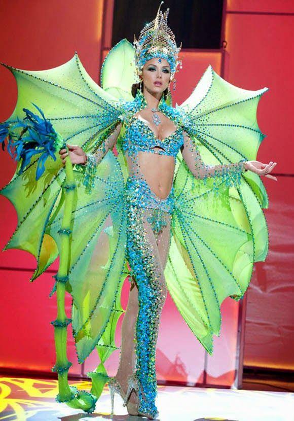 2d77bad09a Venezuela  un Paraíso de Reinas  Miss Universo  Ganadoras del Traje Típico  en la Historia del Miss Universo.