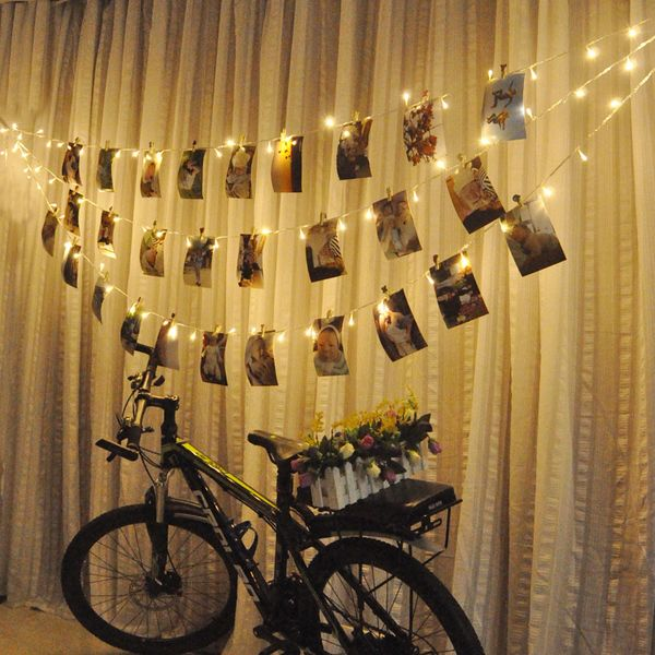 LED String light Window Curtain Icicle Lights Fairy Home Decor DIY Christmas Curtain String ...
