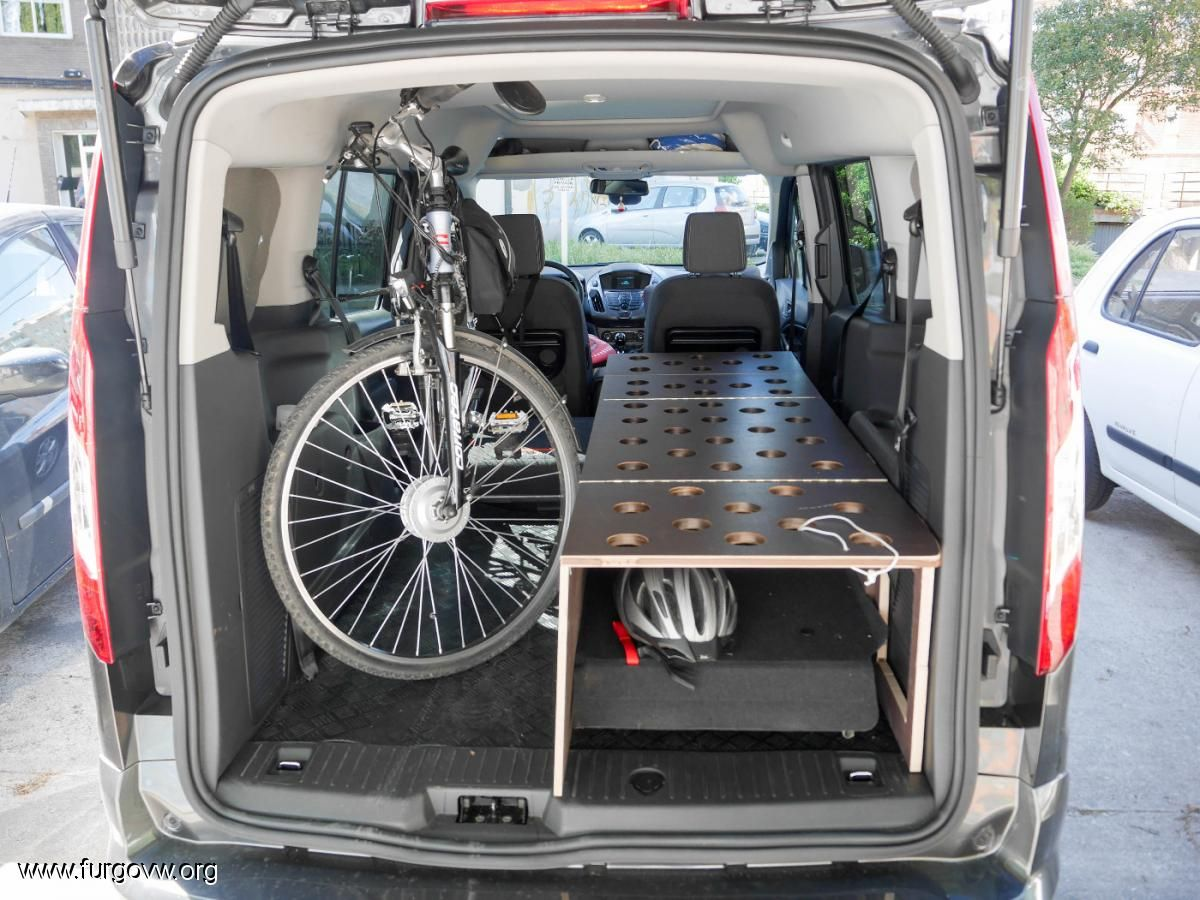 Ford Tourneo Connect Vans Club Camper Pinterest Furgo