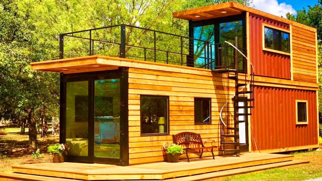 Absolutely Stunning Tiny Home Helm By Cargohome For Sale Cargo Home Container House Gothic House