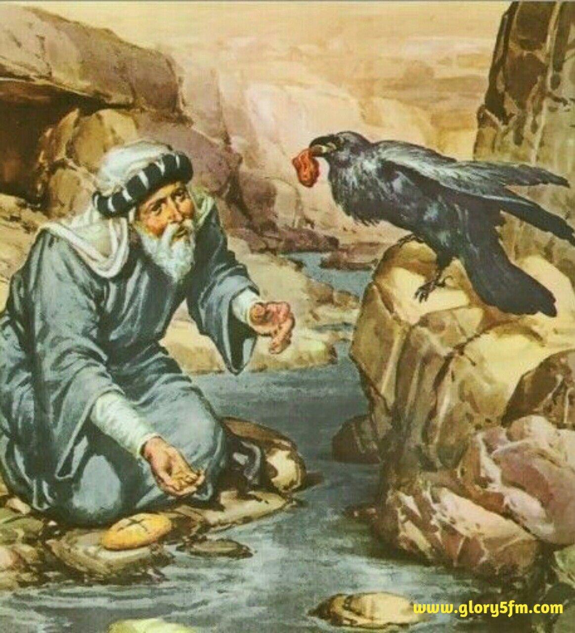 Elias Alimentado Por Corvos Arte Da Biblia Arte Biblica