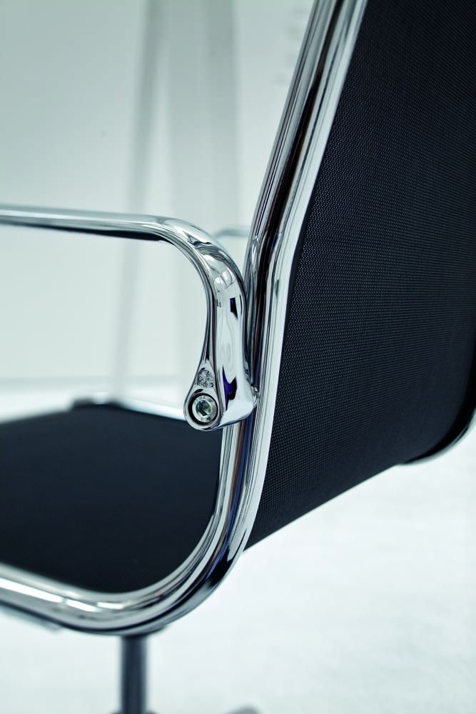 """Light  Light is the bestseller chair of Luxy. It has been conceived from an idea that has become afterwards a patent, to fix the supporting structure to the upholstery through a single pipe without any screws, these are the elements that make the difference. Its design is extremely elegant and """"light"""".  http://www.lomustore.com/en/prod/office/armchairs-for-office/light.html"""