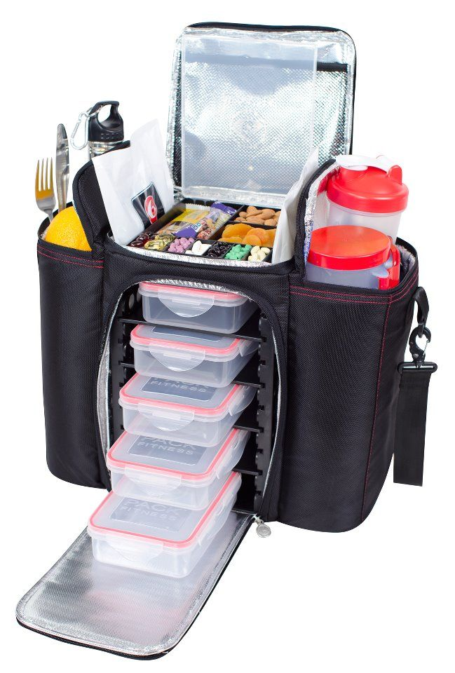 The Durus 500 Features Five Meal Containers Two Gel Pacs And Is 13 Tall This 5 Tray Management System For Fitness Elite Keeps Healthy