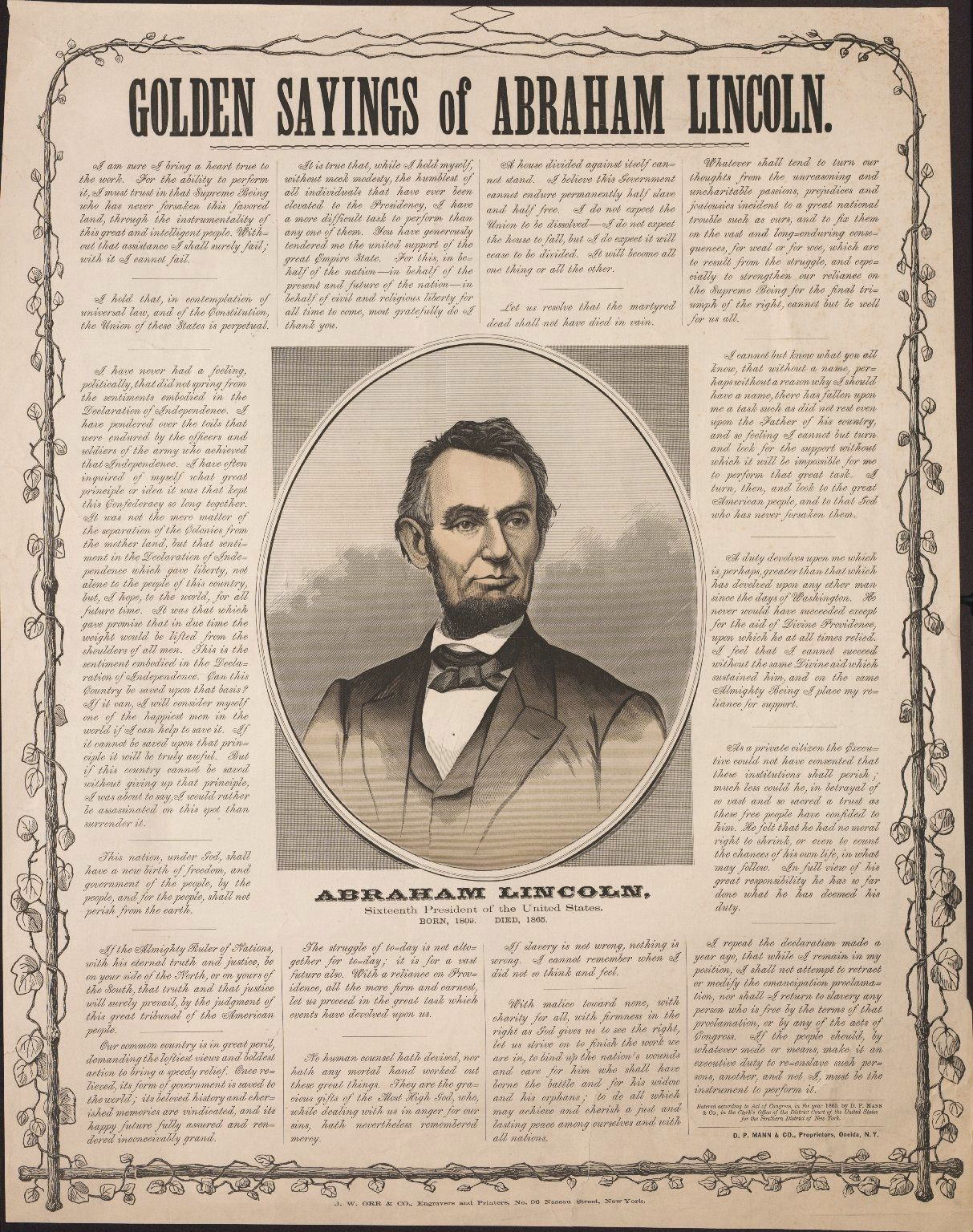 The Lincoln Speeches A Mourning Nation Most Loved To Remember