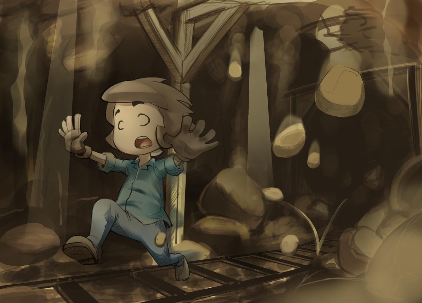 Un Post Sobre Cuando Las Actividades Le Caen Todas Encima A Uno Anime Ilustraciones Derrumbe