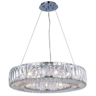 Everly Quinn Maumelle 15 Light Crystal Chandelier Lighting