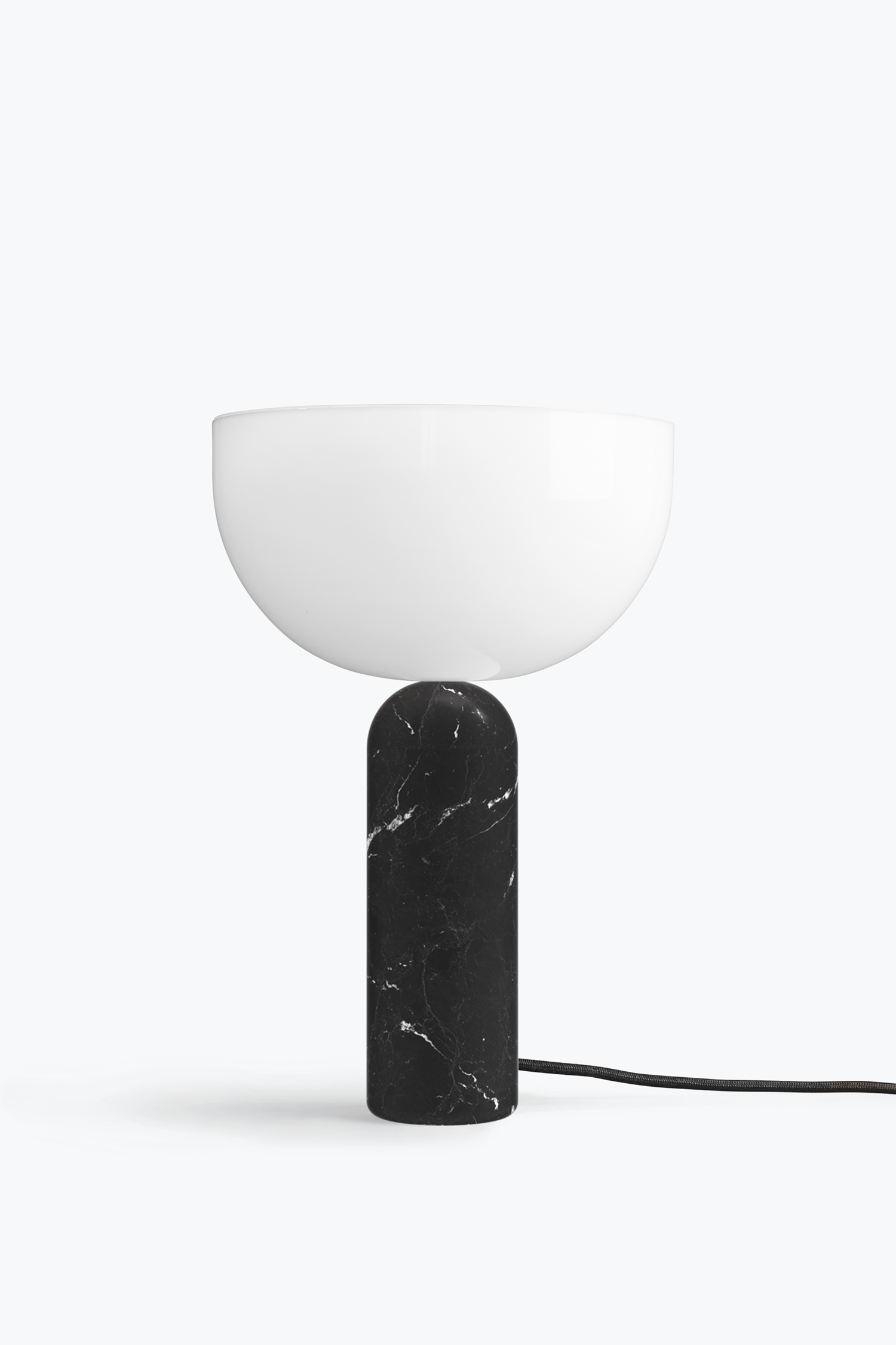 Kizu Table Lamp Black Marble Large New Works Black Table Lamps Table Lamp Wood Table Lamp