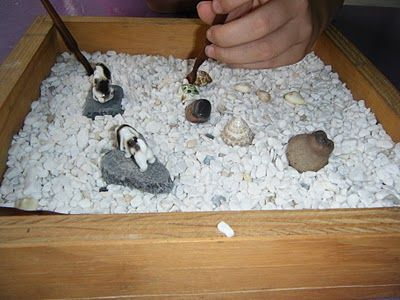 we will be making zen gardens at school, this is a nice ...