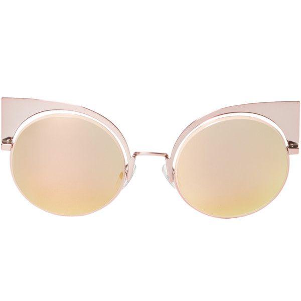 7f613e9407 Fendi Women s 53MM Cat-Eye Sunglasses - Pink ( 249) ❤ liked on Polyvore