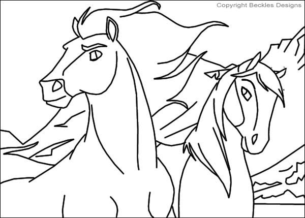 Pin By Faustina Barron On Favorite Entertainment Stuff Horse Coloring Pages Family Coloring Pages Spirit The Horse