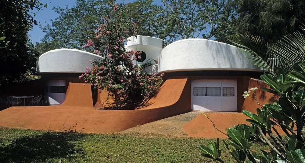 Une maison du0027Auroville Le plan du0027urbanisme, non réalisé à ce jour