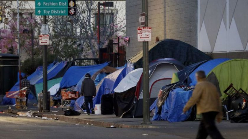 12 27 19 More Than 44 000 Americans Living In Los Angeles Will Spend Tonight Sleeping On The Streets They Are Homeless Twenty Five Percentage Of Them Have A In 2020