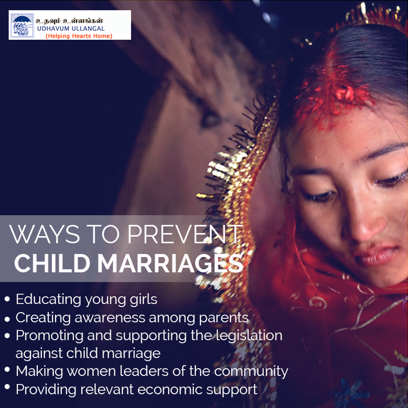 Ways To Prevent #ChildMarriages