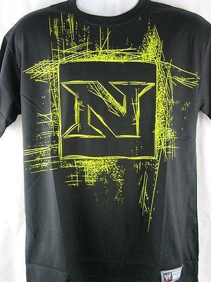 f509461f Nexus Scratch Logo Wade Barrett CM Punk Black WWE T-shirt ADULT ...