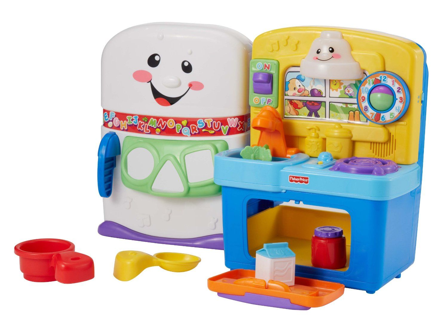 Toys For Boys To Learn From : Laugh and learn baby kitchen review cookin up fun