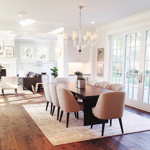 Casual Modern Dining Room: Love This Classic Meets Casual Modern Dining Room From The