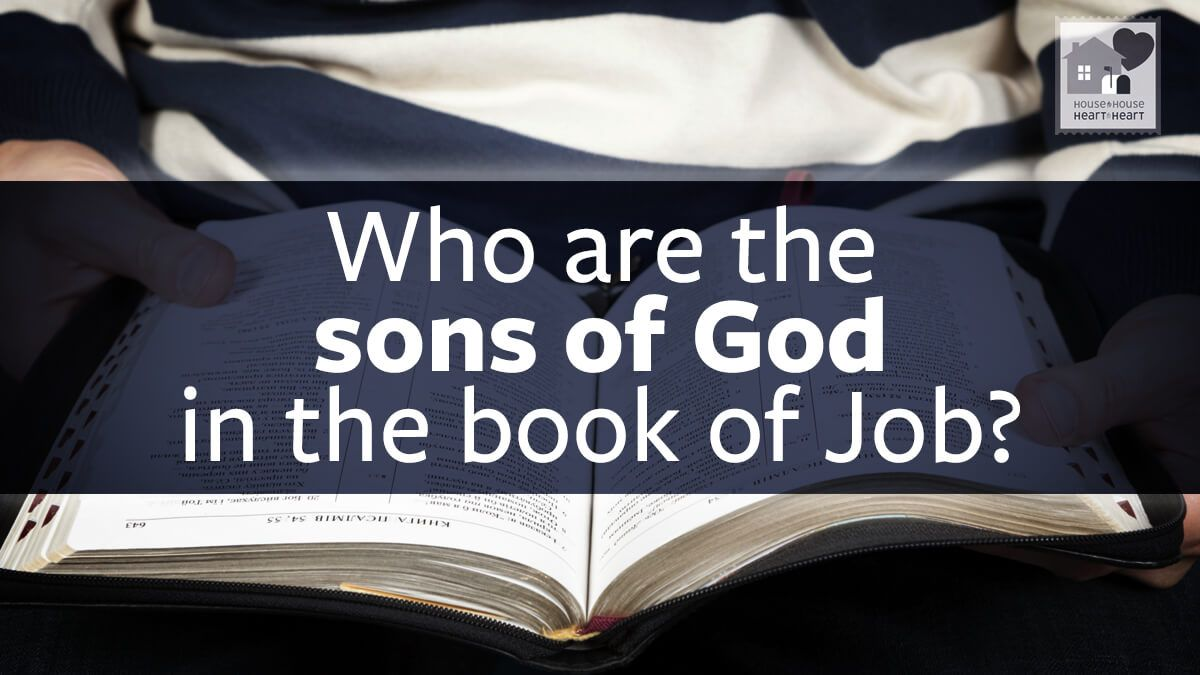 """Almost every reference in the Bible to """"sons of God"""