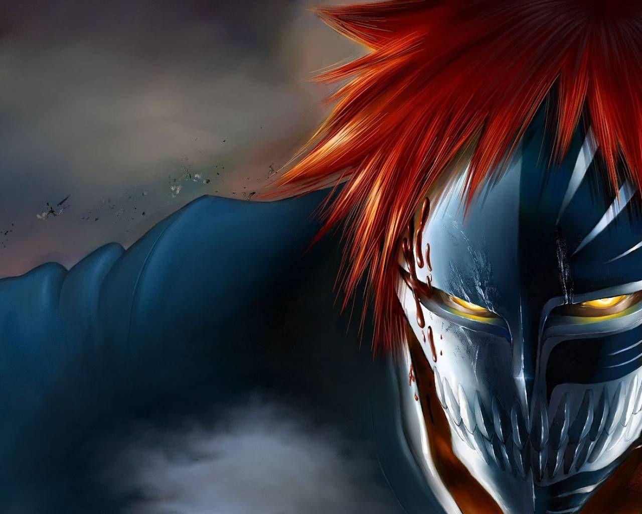 Ichigo Kurosaki Hollow Mask Wallpaper 23149 Wallpaper Wallatar Com Bleach Fanart Bleach Anime Bleach