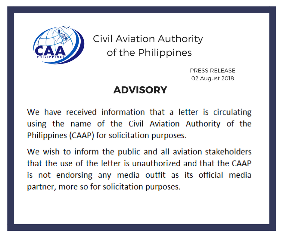 Civil Aviation Authority of the Philippines in 2020