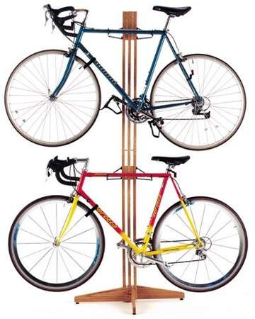 Gear Up Oak Rack Free-Standing Bike Rack | Home is where the <3 is ...