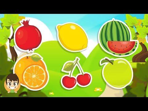 Learn Fruits In Arabic For Kids تعليم أسماء الفواكه للاطفال باللغة العربية Learning Arabic Teach Arabic Creative Crafts