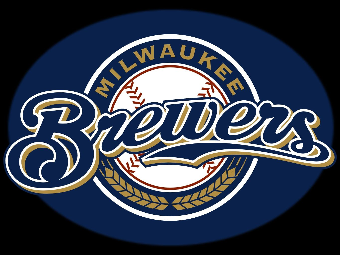 Milwaukee Brewers Logo Milwaukee Brewers Milwaukee Brewers Baseball Mlb Team Logos Brewers Baseball