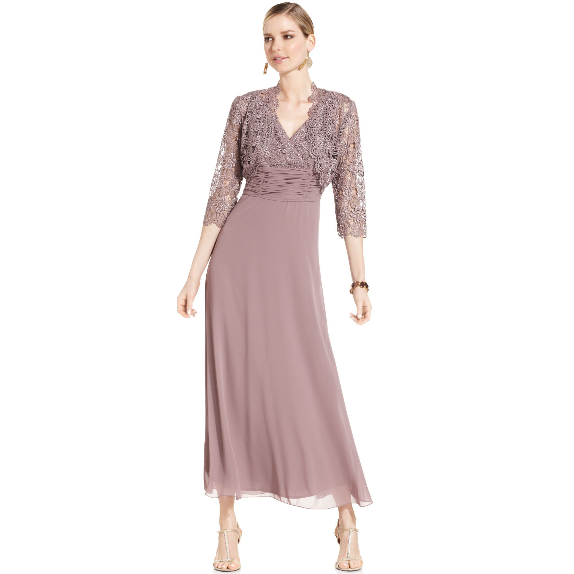 a0089eca705a4 https   www.lyst.com clothing patra-sleeveless-lace-gown-mocha ...